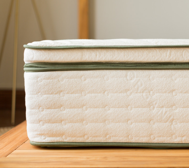 Avocado Green Organic Latex Mattress Topper Product Photo