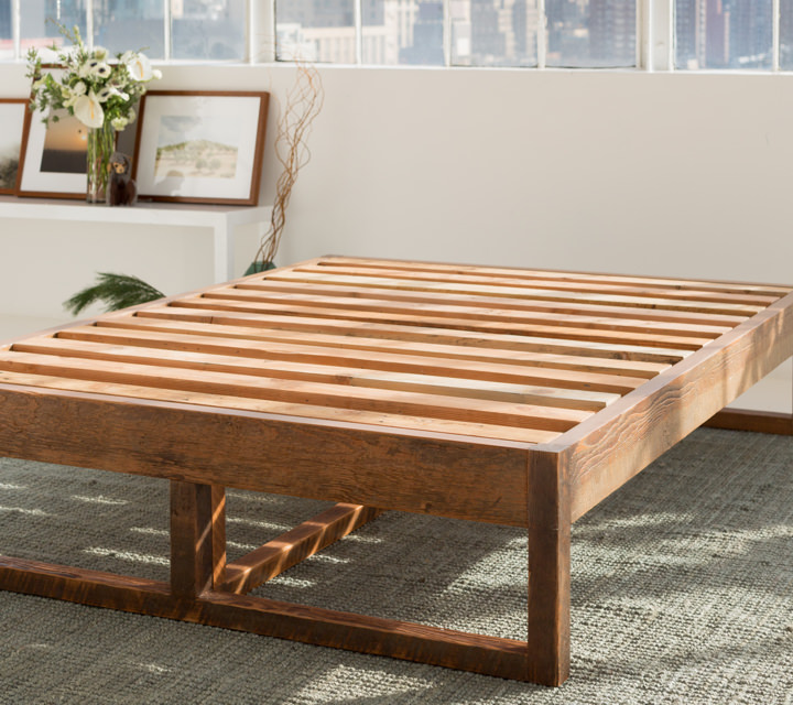 Eco Wood Bed Frame Product Photo