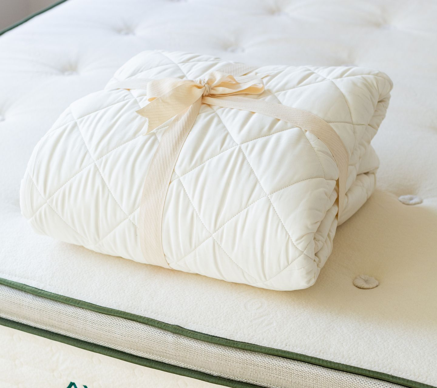 Organic  Cotton Mattress Pad Protector Product Photo