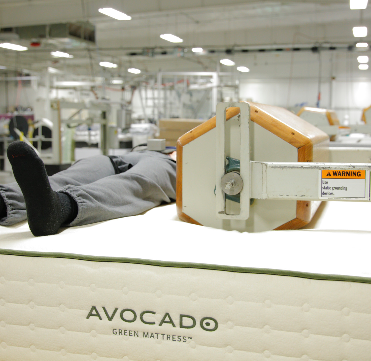 Lab Tested Durability Warranty Durable Lasts Quality Mattress Avocado Green Mattress