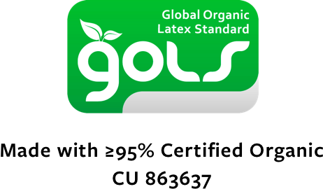 GOLS Organic Latex Mattress Certified Avocado Green