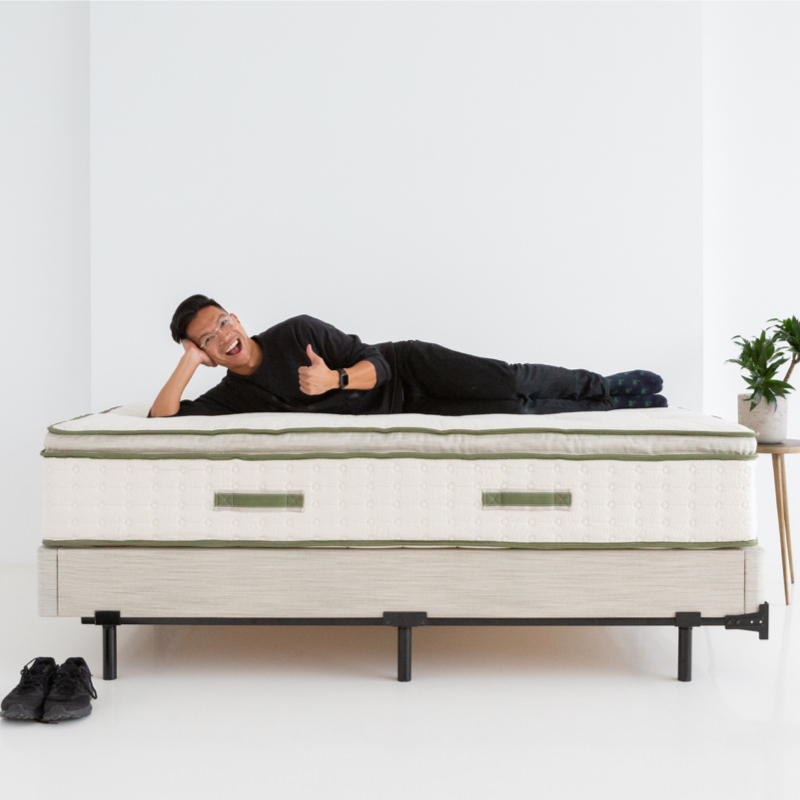 Avocado Green Mattress - Foundation Full
