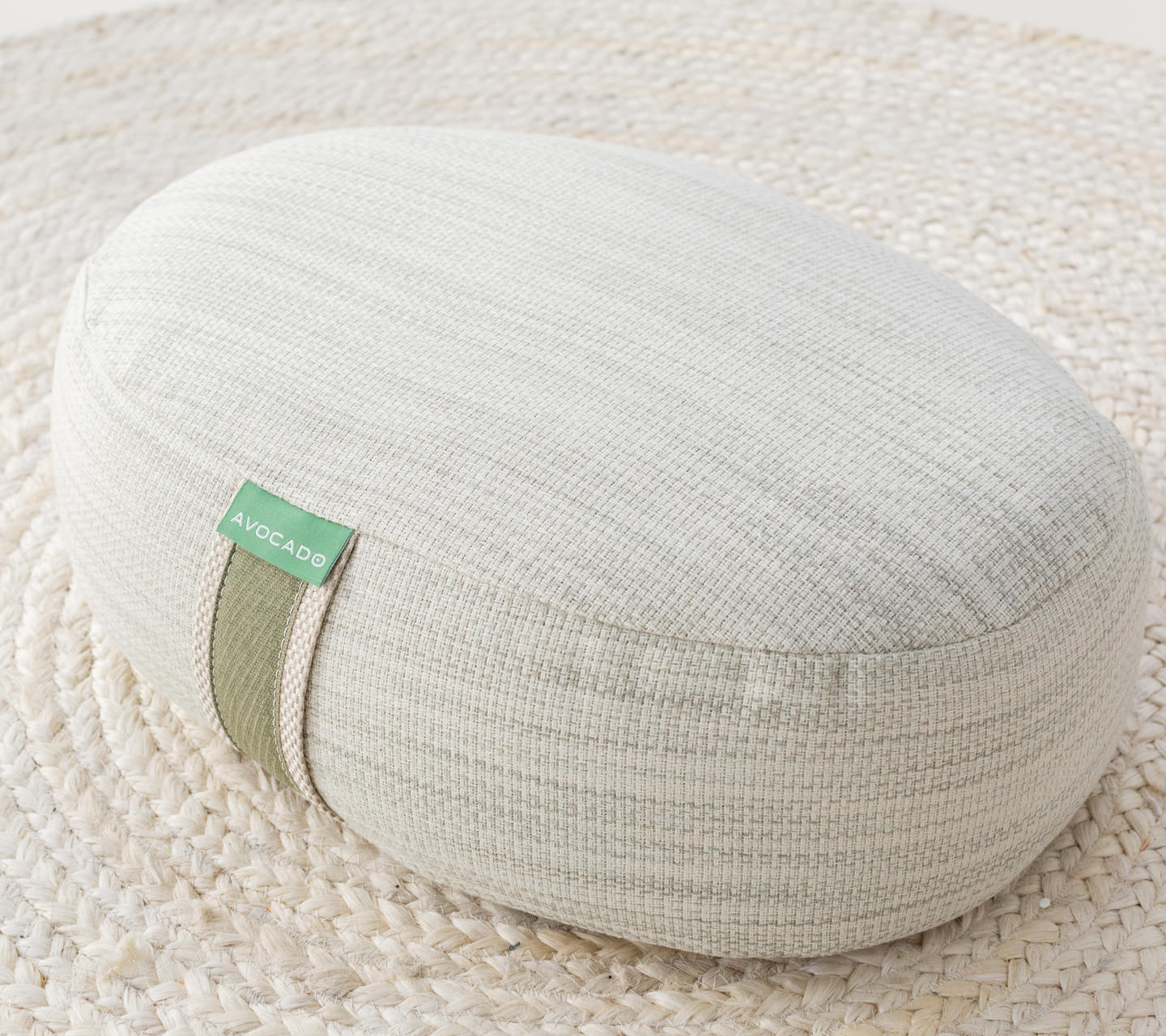 Avocado Green Meditation Pillow Product Photo